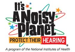 A noisy planet